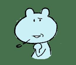 Indulgence bear sticker #488392