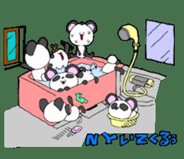 Panda sticker #488634