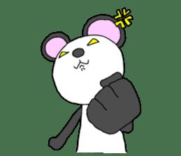 Panda sticker #488644