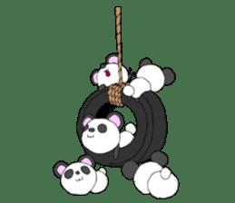 Panda sticker #488645