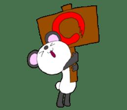 Panda sticker #488646