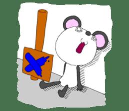 Panda sticker #488647