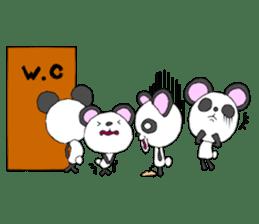 Panda sticker #488649