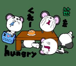 Panda sticker #488650