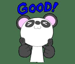 Panda sticker #488657