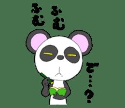 Panda sticker #488668