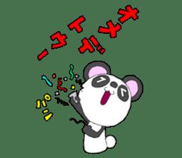 Panda sticker #488671