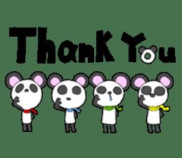 Panda sticker #488672