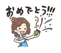 KUREYON Girls sticker #488949