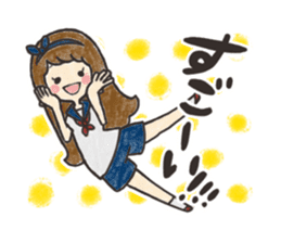 KUREYON Girls sticker #488950