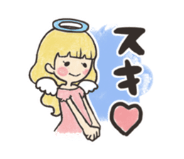 KUREYON Girls sticker #488953