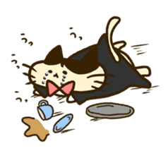 Butler of the cat sticker #489656
