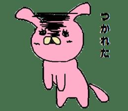 Rabbit Suzuki and Tanuki Sato sticker #491118