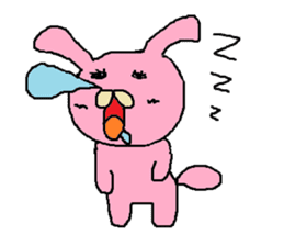 Rabbit Suzuki and Tanuki Sato sticker #491126