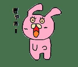 Rabbit Suzuki and Tanuki Sato sticker #491130