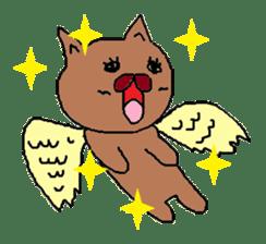 Rabbit Suzuki and Tanuki Sato sticker #491142