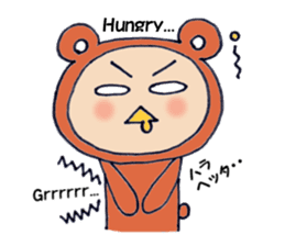 The kigurumi man sticker #491639