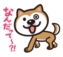 Shiba Inu (native japanese dog) sticker #492306