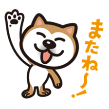 Shiba Inu (native japanese dog) sticker #492308
