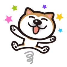 Shiba Inu (native japanese dog) sticker #492310