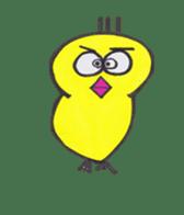 hey little yellow sticker #492836