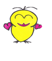hey little yellow sticker #492858