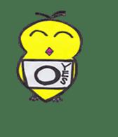 hey little yellow sticker #492868