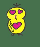 hey little yellow sticker #492869