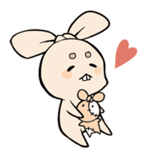 Mameta the Rabbit & Horosuke the Owl sticker #493210