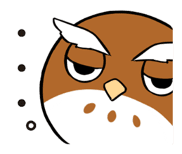 Mameta the Rabbit & Horosuke the Owl sticker #493223