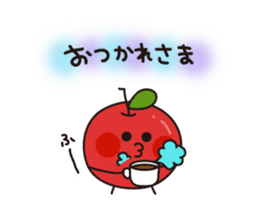 Apple Charactor-APPO-SAN- sticker #493839