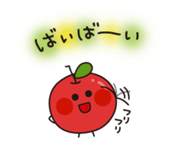 Apple Charactor-APPO-SAN- sticker #493840