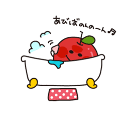 Apple Charactor-APPO-SAN- sticker #493841