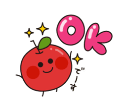 Apple Charactor-APPO-SAN- sticker #493844