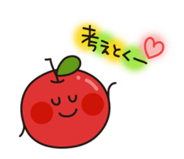Apple Charactor-APPO-SAN- sticker #493846