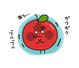 Apple Charactor-APPO-SAN- sticker #493849