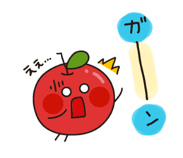 Apple Charactor-APPO-SAN- sticker #493850