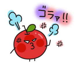 Apple Charactor-APPO-SAN- sticker #493851