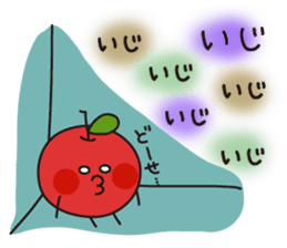 Apple Charactor-APPO-SAN- sticker #493852