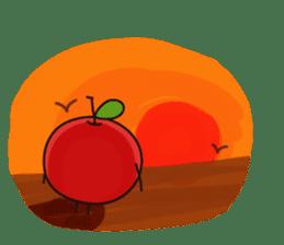 Apple Charactor-APPO-SAN- sticker #493853