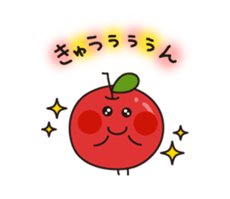 Apple Charactor-APPO-SAN- sticker #493854