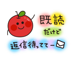 Apple Charactor-APPO-SAN- sticker #493855