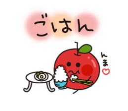 Apple Charactor-APPO-SAN- sticker #493857