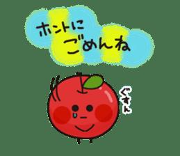 Apple Charactor-APPO-SAN- sticker #493861