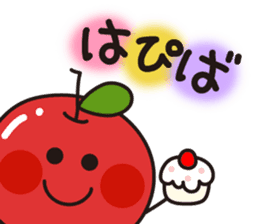 Apple Charactor-APPO-SAN- sticker #493871