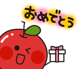 Apple Charactor-APPO-SAN- sticker #493872