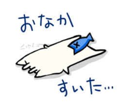 Fish Goat Stamp sticker #493922