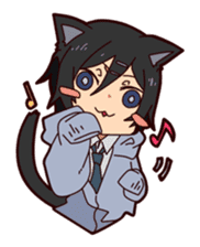 KOUKOUSEI-MANGA sticker #494235