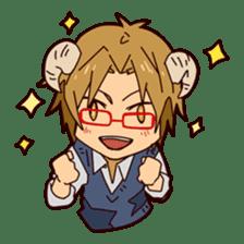 KOUKOUSEI-MANGA sticker #494237