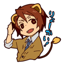 KOUKOUSEI-MANGA sticker #494252